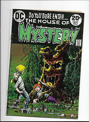 House Of Mystery #217 {Sep 1973 Dc} F/f- Early Bronze Age! Wrightson Cover!