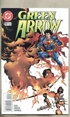 Green Arrow #101-1995 vf- 7.5 DC  Death of Oliver Queen / Superman