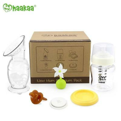 Haakaa New Mum Premium Pack Breastpump 150ml Gift Pack