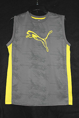 PUMA boys SPORT ATHLETIC polyester SHIRT TOP clothing size 18  X-LARGE worn 1x