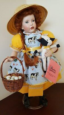 """Patricia Rose Paradise Galleries Doll Molly 14"""" COA, box. Exsellent dollas NEW!"""