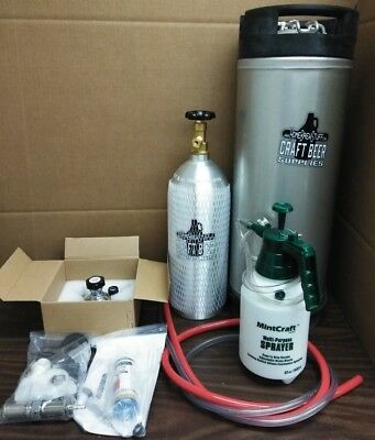HomeBrewStuff Ultimate Single Tap Kegerator Conversion Kit