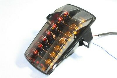 New Led Tail Light Turn Signals For Suzuki Sv650S Sv650A Sv1000 Sv1000S Smoke