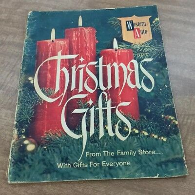1961 Western Auto Christmas Catalog - 39 Pages Of Toys - Etc. - Awesome!