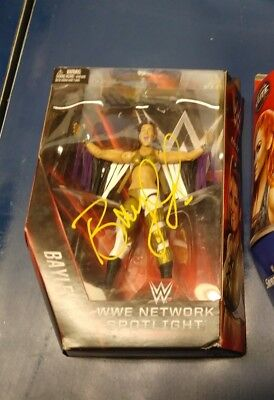 Wwe Network Spotlight Action Figure Bayley Signed Wwe Nxt Champ Raw