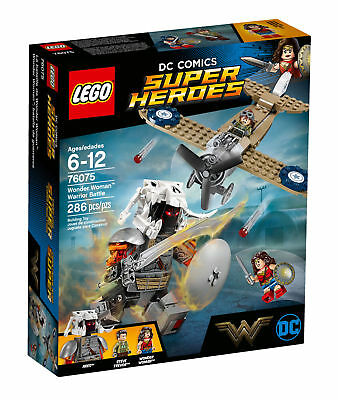 LEGO DC Comics Super Heroes Wonder Woman Warrior Battle 2017 (76075)