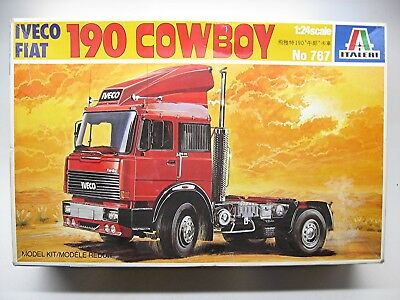 Italeri Iveco-Fiat 190 COWBOY truck kit #767 (first issue)