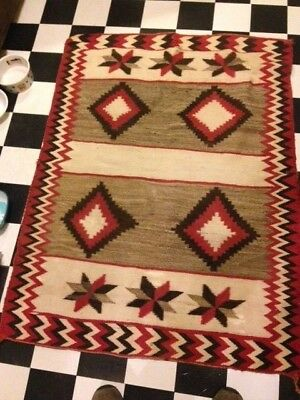 Red Mesa double saddle blanket ca. 1930