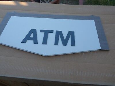 Brand New ATM Sign 2 Sided  _NICE-