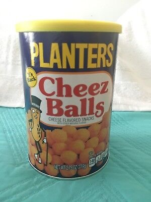 Planters Cheez Balls 2018 release sealed 2.75oz can Cheese Balls. READY TO SHIP