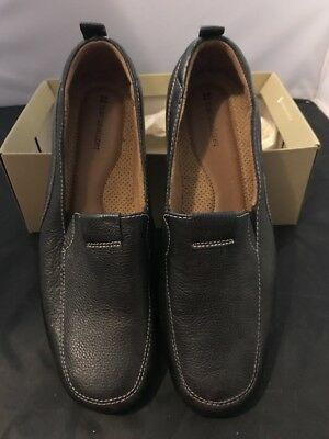 Brand New Womens Ladies Shoes Size 10 Naturalizer Fragrance Black Loafer Slip-On