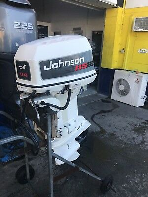 115hp Johnson Outboard Motor