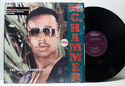 MC HAMMER - let's get it started LP 1988 USA ORIG w/hype sticker! OAKLAND RAP