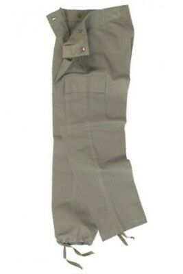 Olive German Army moleskin Trousers 42/32 Brand New