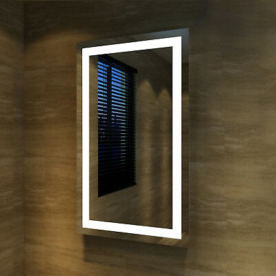 1200x800mm LED Illuminated Mirror Touch Switch Wall mounted Brighten Your Face