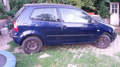 vw polo 9n Unfall Front