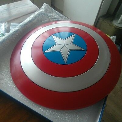 Captain America Shield 1:1 ABS Shield 57cm Cosplay Halloween Gift Props