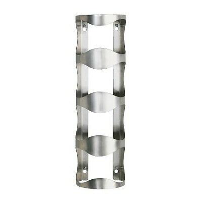IKEA VURM - 4-bottle wine rack, stainless steel. Free Delivery