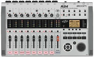 Brand New Zoom R24 Recorder & Interface & Controller & Sampler Music