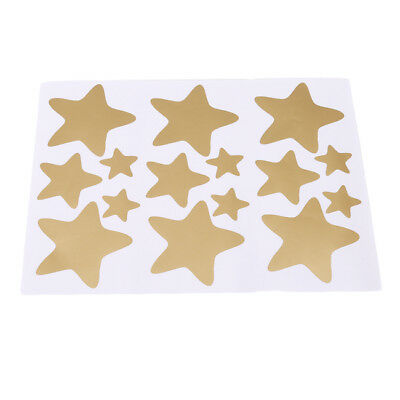 Various Size Stars Shape Wall Stickers Animal Room Home Decal Art G