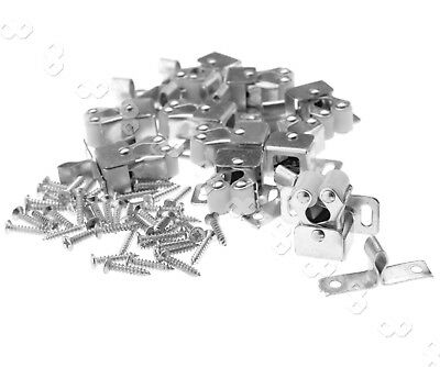 10 Pieces Roller Catch Silver color w/Screws Cupboard Cabinet Door Latch TX GG