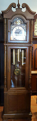 8 Day Westminster Whittington Chiming Grandfather Clock Delivery Arranged