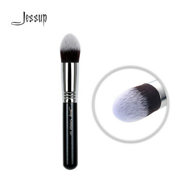 Jessup Tapered Pro Makeup Brush Contour Face Eyeshadow Synthetic Copper Handle