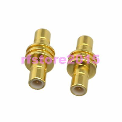 1pce Adapter Connector SMB male plug to SMB male plug straight for Radio