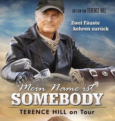 2x Tickets Terence Hill Live - Dresden Elbufer 20.08.2018 Mein Name ist Somebody