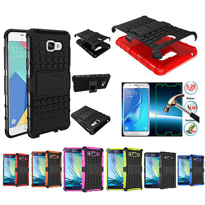 Hybrid Kickstand Protective Rugged Hard Back Phone Case Cover For Samsung Galaxy