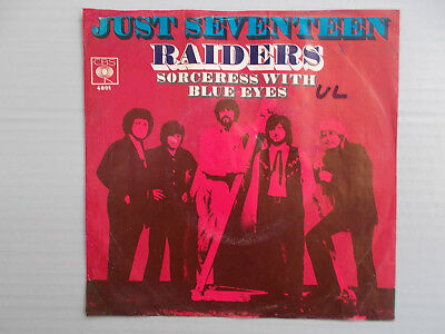 "The Raiders - Just Seventeen ( 7"" Single,1970, Z= sehr gut- )"