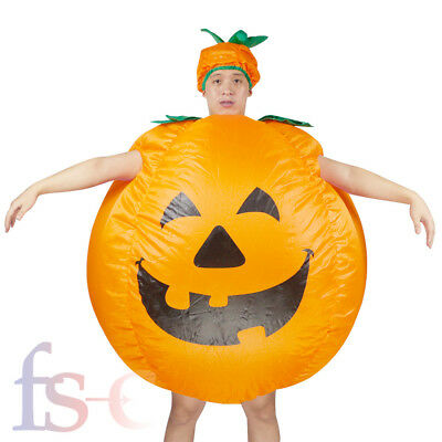 Halloween Inflatable Pumpkin Costume Party Unisex Waterproof Fancy Dress Outfit