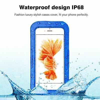 WATERPROOF DIVING CASE iPhone X XS MAX XR 8 7 6 & Plus IP68 Or Underwater Bag