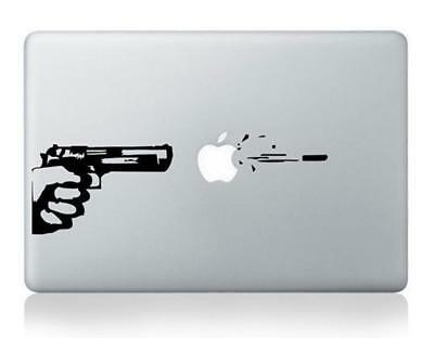 "New Gun Vinyl Decal Sticker for Apple Laptop MacBook Air 11'' 12"" 13'' 15'' 17''"