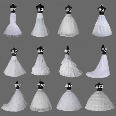 Women Skirt Petticoat Slips Underskirt Wedding A-Line Dress Retro Slips Petiskir