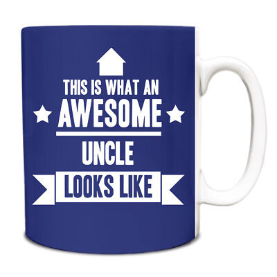 This is what an AWESOME Uncle Looks like Mug Gift idea coffee cup 220