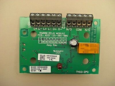 £30 Tyco RIM800 MX Relay Interface Module PCB 568.800.003