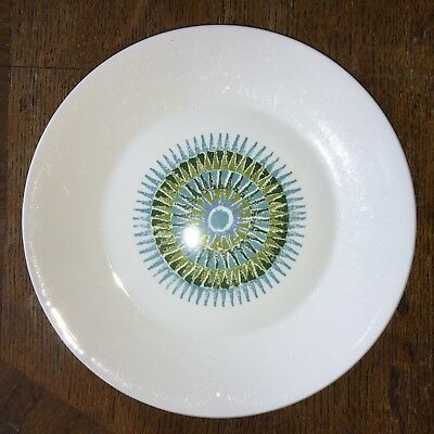 J & G Meakin Aztec Dessert Plate 23.4 cm diameter. Postage £2.95 for both