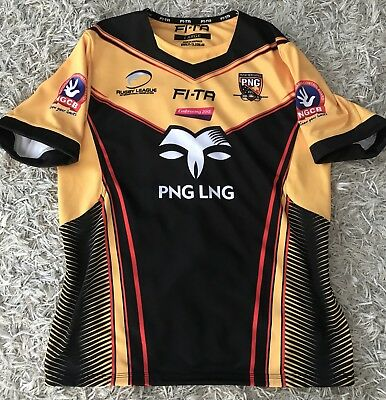 Papau New Guinea  Player Issue Match Jersey Rabbitohs Broncos Qld Eels