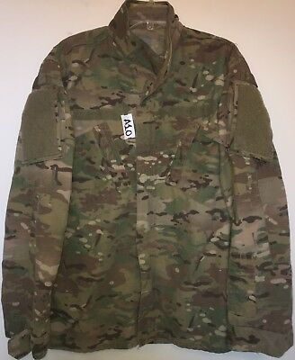 Us Army Ocp Scorpion R/s F/r Insect Repellent Shirt Large Long Used (1_A10)