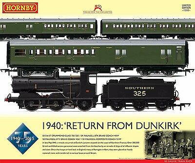 Hornby R3302 Southern Railway 1940: Return from Dunkirk Train Pack - Ltd Ed New