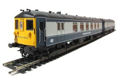 Hornby R2988 class Brighton Belle 1969 blue/white version 2 car Brand New in box