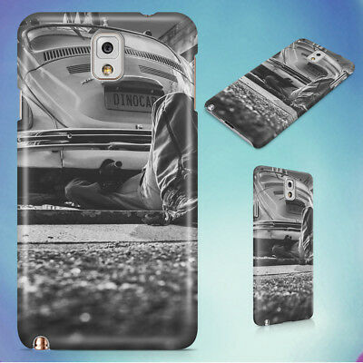 Black And White Car Vehicle Vintage Hard Case For Samsung Galaxy Phones