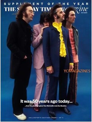New UK The Beatles 50 Years The Sunday Times Cover #1 Clippings Paul McCartney