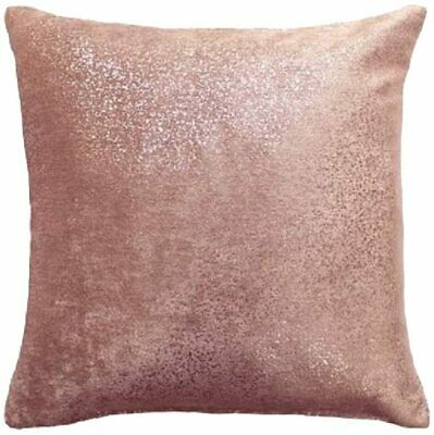 "Glittering Rose Gold Sparkles Speckles Blush Pink Velvet18""cushion Cover £6.99"