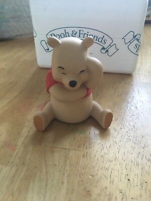 """Walt Disney Winnie the Pooh and Friends """"Think, think, think."""" Retired porcelain"""