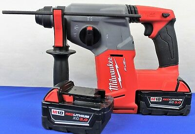 "Milwaukee 2712-20 M18 Fuel 1"" SDS Plus Rotary Hammer NEW"