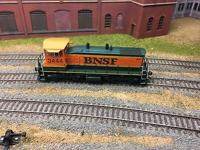 Broadway Limited sw1500. Bnsf 3444 with sound and dcc