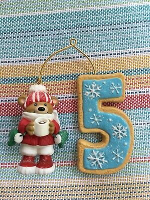 Hallmark 2008 My Fifth 5th Christmas Child's Age Collection Ornament