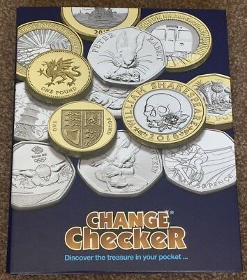 Official Change Checker Collectors Coin Album Brand New